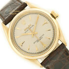 ROLEX OYSTER PERPETUAL CAL1030 14CT 1954 BEAUTIFUL RESTORED DIAL