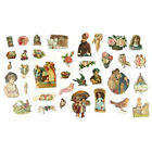 Vintage Die Cut and Hand Cut Victorian Images from Trade Cards and Calling Cards