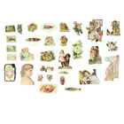 Vintage Hand Cut and Die Cut Victorian Images from Trade Cards and Calling Cards