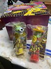 Flix Pez Like Dispensers Mask Jim Cardy And Milo Mint In Bags Full Box