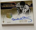 Bobby Orr NHL Signature Laureates Auto Upper Deck Autograph on the Card ! 19 25