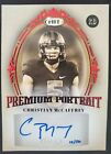 2017 Sage Autographed Football Cards - Checklist Added 13