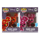 IN HAND! Funko POP! Disney - (2-Pack) Mickey & Minnie Mouse Art Series Exclusive