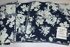 48 Pieces 85 Square Denim All Blue Floral Rag Quilt Kit Rotary Cut