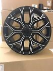 4 NEW 2015 GMC Sierra Wheels 20x9 Gloss Black Milled OE 20 Silverado Tahoe