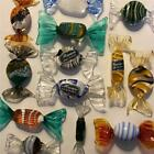 Vtg Murano Italy GLASS Candy CANDIES Lot 13 some w Labels Kirstie Alley Estate