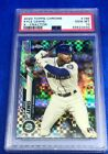 2020 Topps Chrome Kyle Lewis #186 XFractor RC PSA 10 GEM MINT - Seattle Mariners
