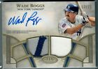 Wade Boggs 2021 Topps Tier One Autograph Dual Relic Auto #T1ADR-WB #d 25 Yankees