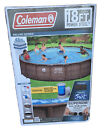 Coleman Power Steel Deluxe Series 18 X 48 Above Ground Pool New In A Box