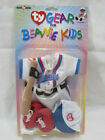 Ty Gear for Beanie Kids BASEBALL Outfit Clothes Uniform Hat Shoes Bat NEW