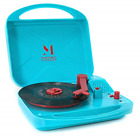 Record Player Mini Portable Battery Operated Travel Suitcase Turntable for 7 2