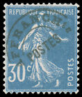 FRANCE 1923 30c SOWER BLUE PRE CANCELLED MINT well centered and fresh MHR very f