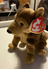 TY COURAGE Beanie baby NYPD Birthday Sept 11, 2001 Collectible