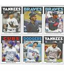2018 TOPPS THROWBACK THURSDAY SET #34 ACUNA RC, TORRES, ALBIES!! 6 Card Set!!!