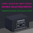 2 In 1 Out Or 1 In 2 Out Audio Source Signal Selector Switcher Plug Play