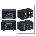 2 In 1 Out Or 1 In 2 Out Audio Source Signal Selector Speaker Switcher 1pcs