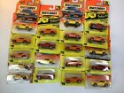 19 VINTAGE MATCHBOX Hot Wheels GTO New In Package blister