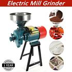 Electric Grinder Mill Grain Corn 3000W Wheat Feed Flour Cereal Machine w Funnel