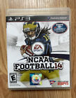 NCAA Football 14 (PlayStation 3, 2013) 2014 PS3 Complete With Manual
