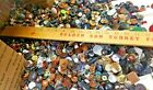 VTG RETRO BUTTONS SEWING CRAFTS 11+ POUNDS LEATHER METAL WOOD PLASTIC LOT