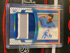 Adbert Alzolay 2020 Panini National Treasures Rookie Patch Auto RPA 25 Cubs RC