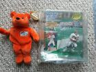 JOHN ELWAY 1999 FOOTBALL 2000 STARTING LINEUP SPECIAL COLLECTIBLE & ELWAY BEANIE