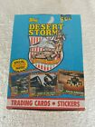 1991 TOPPS DESERT STORM BOX- 36 SEALED WAX PACKS - TRADING CARDS & STICKERS
