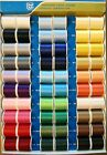 LOT OF 60 SPOOLS JP COATS DUAL DUTY PLUS Cotton Covered Polyester Thread NEW