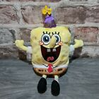 Spongebob Squarepants Ty Beanie Babies Birthday Edition Collectable Soft Toy 10