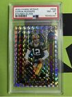 Aaron Rodgers PSA 8 2020 Panini Mosaic Stained Glass SP