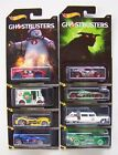 2016 Hot Wheels Ghostbusters Complete Set of 8  From Factory Case  F