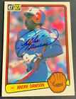 Andre Dawson Cards, Rookie Card and Autographed Memorabilia Guide 46