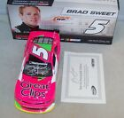 124 ACTION 2013 5 GREAT CLIPS CANCER PINK CAMARO BRAD SWEET AUTOGRAPHED 11 628