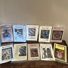 Vintage Quilt Patterns Wall Hanging Throws Vest Lot Sewing Quilting Designs