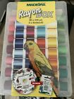 New Madeira Rayon Embroidery thread box 82 spools 82 DESIGNS