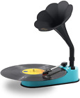 Turntable Record Player With Horn Speaker For 33 45 Rpm RecordsMini Gramopho