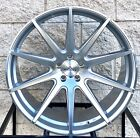 22 Rayanni RA10 Wheels For Mercedes Benz S550 S63 CL550 CL63 Silver Concave
