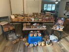 Longaberger Basket Lot of 100 plus Baskets with Accessories