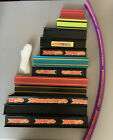 Lot of 32 Hot Wheels Track Various Straight w 9 Connectors 4 25 Inches