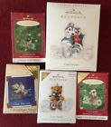 Lot of 5 Cool Decade Hallmark Ornaments - 3 Colorway Repaints Limited Rare