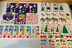 Mrs Grossman Lot of 25 Large 6 x 6 Sheets of Vintage Stickers