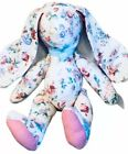 Large Rose fabric Plush Easter Bunny Rabbit Doll Amazing Clothes Decor room BBB