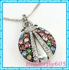 Brighton Trust Your Journey Lady Bug Reversible Necklace NWT 72
