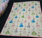 Barbie Doll Retro Style Quilt Mccall Sewing Very Nice Hand Sewn