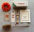 Oxford 14 Fine Punch Needle WITH BOX Rug Hooking Tool embroidery