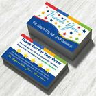for eBay Thank You Cards for Your Order Purchase Notes Set 50 100 250 500 1000