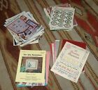 Lot of over 70 Cross Stitch Patterns Books  Booklets