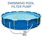 Pool Pumps Easy Set Above Ground Swimming Pool Cartridge Filter Pump System NEW