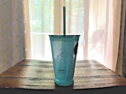 Starbucks 16oz Recycled Glass Cold To Go Cup With Straw Limited 2021 Tumbler