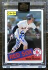 Wade Boggs Topps 2021 Archives Retired 1 1 Auto Autograph 1985 O-Pee-Chee Sox